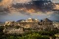 Parthenon temple on Athenian Acropolis, Athens, Greece Royalty Free Stock Photo