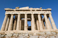 Parthenon temple in Athens Royalty Free Stock Photo