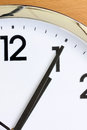 Partial view of the clock for concept background Royalty Free Stock Photography