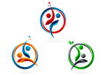 Partnership,logo,star,success,people,symbol,healthy,team,education,vector,icon,design