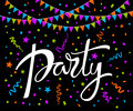Party abstract background