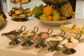 Party buffet spread Stock Photography