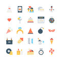 Party and Celebration Vector Icons 5