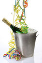 Party with champagne Royalty Free Stock Photography
