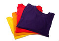 Party-colored t-shirts Royalty Free Stock Photography