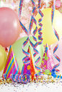 Party colorful background Stock Photos
