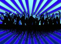 Party crowd background Royalty Free Stock Photo