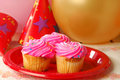 Party cupcakes Stock Images