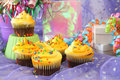 Party Cupcakes Stock Image