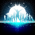 Party dance time Stock Images