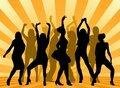 Party dansers Royalty Free Stock Photos