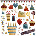 Party decorations Royalty Free Stock Images