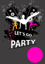 Party design template, Stock Photography
