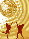 Party - disco Royalty Free Stock Photos