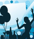 Party disco background Royalty Free Stock Photos