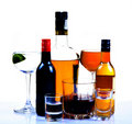 Party drinks Royalty Free Stock Images