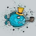 Party fish Royalty Free Stock Image