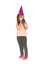 Party girl looking away Royalty Free Stock Photography