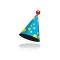 Party hat art concept Royalty Free Stock Photo
