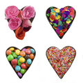 Party hearts Stock Photography