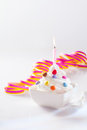 Party ice-cream dessert Royalty Free Stock Image