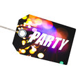 Party label Stock Photos