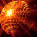 Party lights disco ball Royalty Free Stock Photo