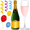 Party objects vector Royalty Free Stock Photography