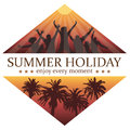 Party in Paradise. Young People Dancing on the Holiday. Royalty Free Stock Photo