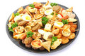 Party platter food Royalty Free Stock Image