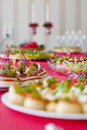 Party platters Royalty Free Stock Photo