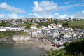 Party in Port Isaac Royalty Free Stock Images