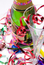 Party scene with champagne Royalty Free Stock Photo