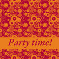 Party time! Royalty Free Stock Photo