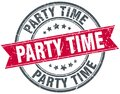party time stamp Royalty Free Stock Photo