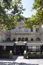 Paryż august restaurant Zdjęcie Royalty Free