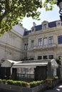 Paryż august restaurant Zdjęcia Stock