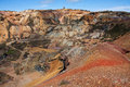 Parys mounatin open cast Royalty Free Stock Photos
