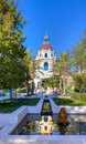 Pasadena city hall ca usa october is central location for government in the of california and features Royalty Free Stock Photography
