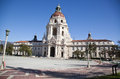 Pasadena city hall grand entrance to the historic building in southern california Royalty Free Stock Photography