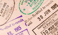 Pasaporte del World Travel Foto de archivo