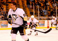 Pascal dupuis pittsburgh penguins Fotografia Stock