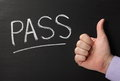 Pass Thumbs Up Royalty Free Stock Photo