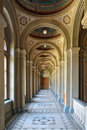 The passage at chernivtsi national university yuriy fedkovych in ukraine Stock Photography