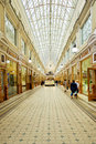 The Passage Shopping arcade, St Peterburg, Russia Royalty Free Stock Photo