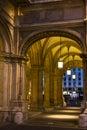 Passage under Opera House, Vienna Royalty Free Stock Photo