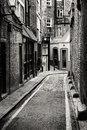 Passage in whitechapel the district where jack the ripper comitted his crimes london Royalty Free Stock Photography