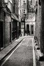 Passage in Whitechapel Royalty Free Stock Photo