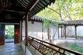Passageway in zhan garden this photo was taken in zhan garden nanjing city jiangsu province china photo taken on sept th Stock Image