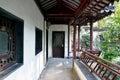 Passageway in zhan garden this photo was taken in zhan garden nanjing city jiangsu province china photo taken on sept th Royalty Free Stock Photo